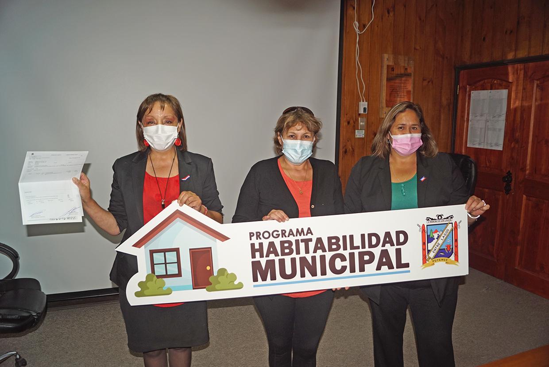 COMENZÓ OFICIALMENTE EL PROGRAMA HABITABILIDAD MUNICIPAL EN PUYEHUE
