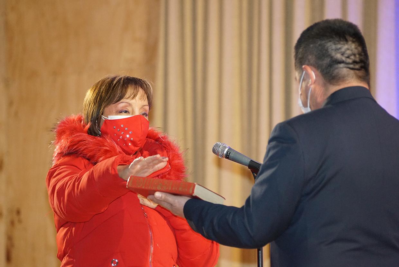 ALCALDESA JIMENA NÚÑEZ Y CONCEJALES REALIZARON JURAMENTO