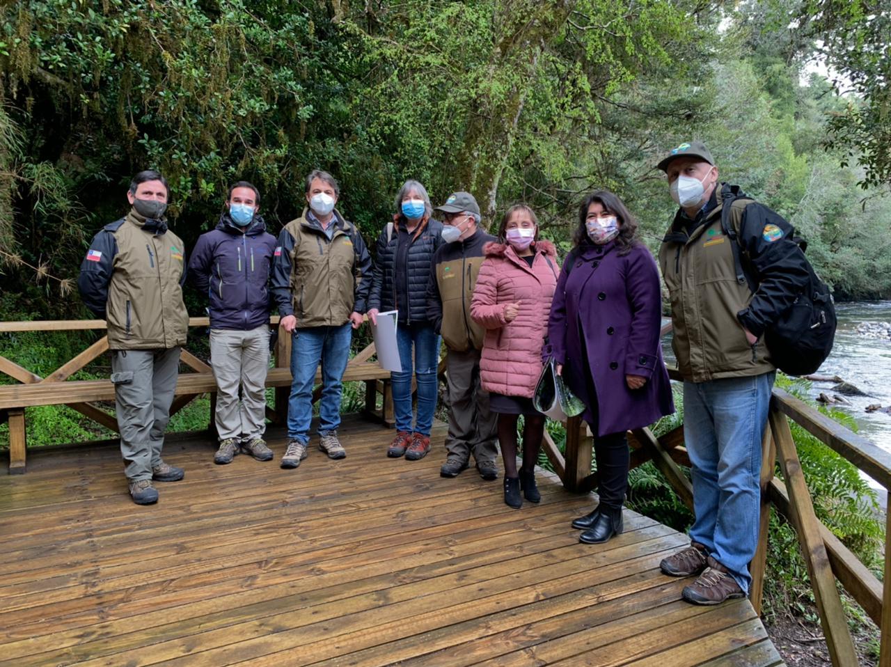 Parque Nacional Puyehue trabaja en nuevo plan maestro e inaugura nuevas herramientas de accesibilidad universal